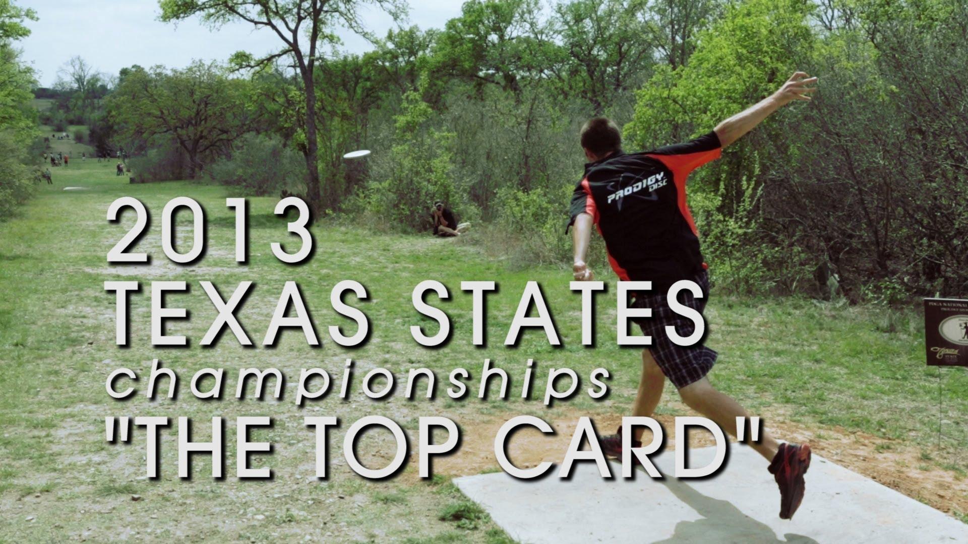 2013 TX States Final Round