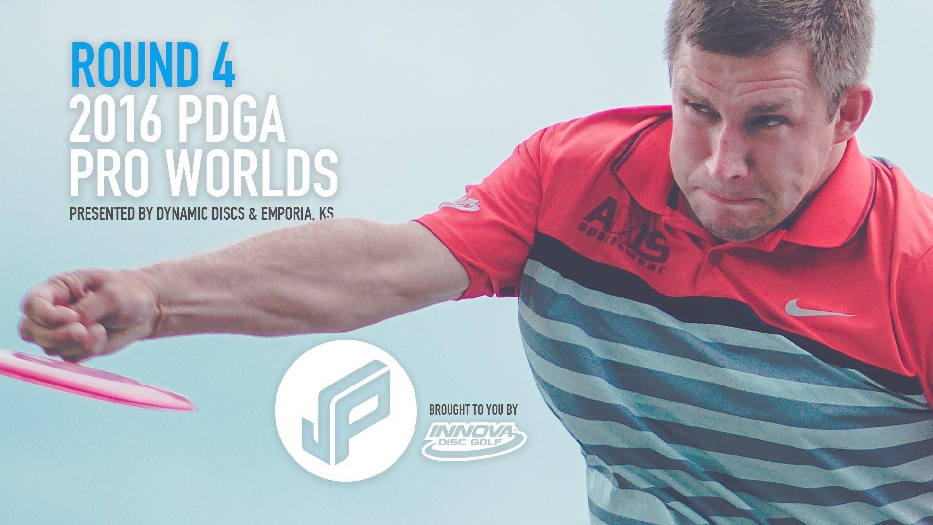 2016 PDGA Pro Worlds Round 4