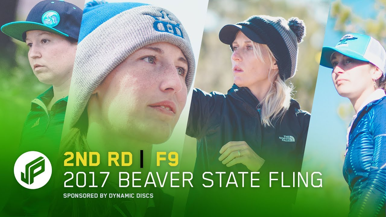 2017 Beaver State Fling   2nd Round, Front 9