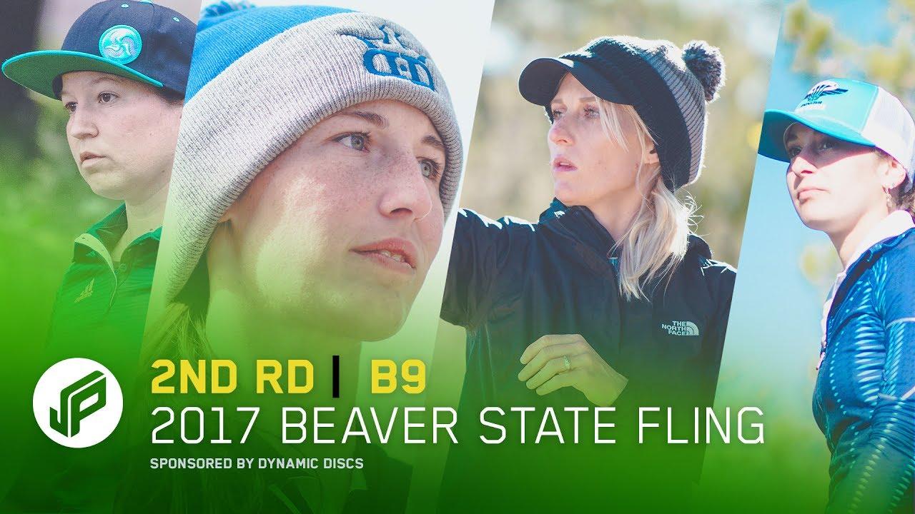 2017 Beaver State Fling   2nd Round, Back 9