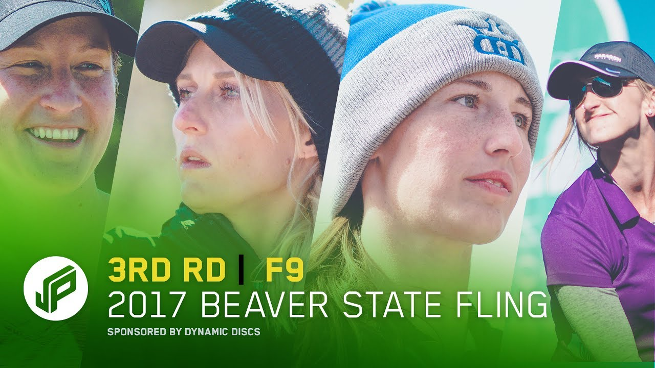 2017 Beaver State Fling   3rd Round, Front 9