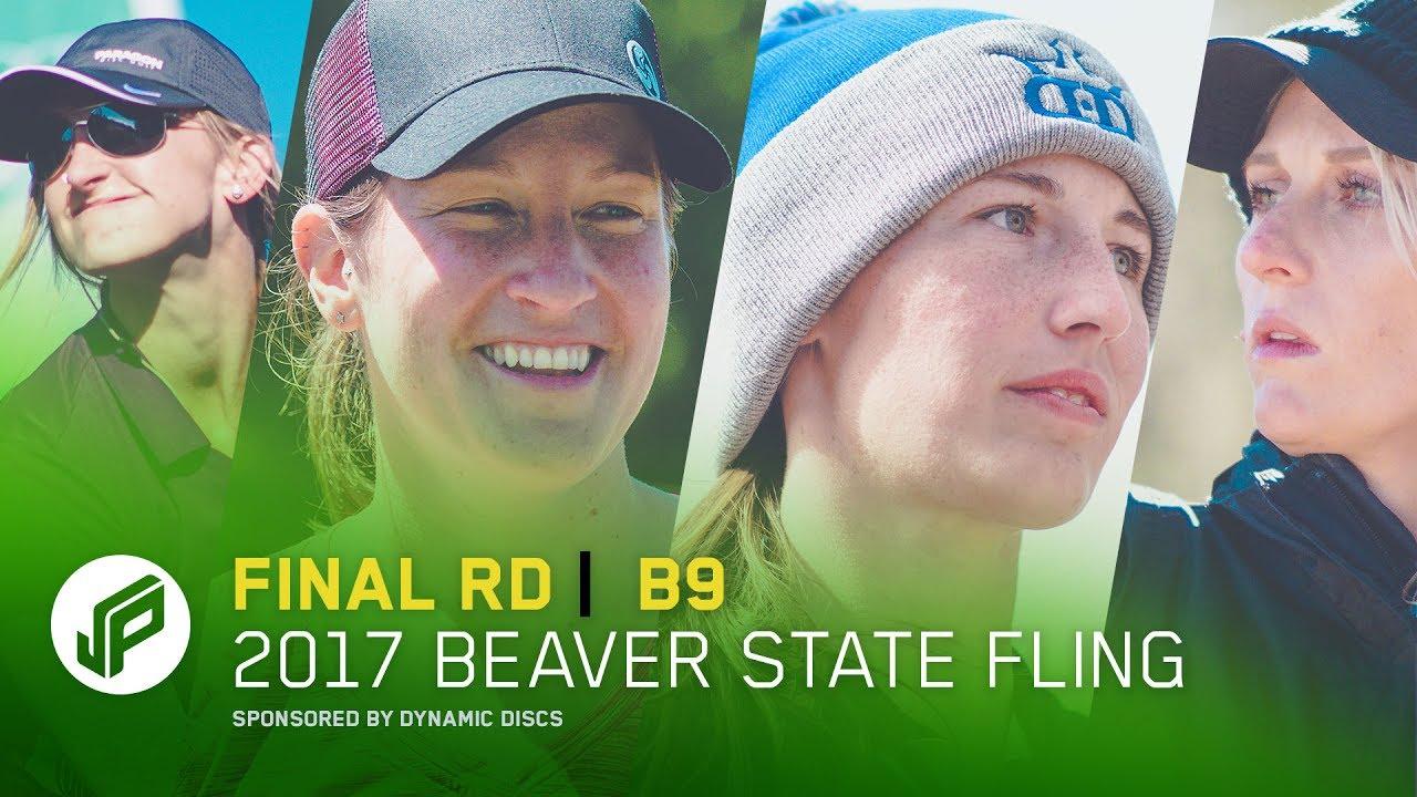2017 Beaver State Fling   Final Round, Back 9