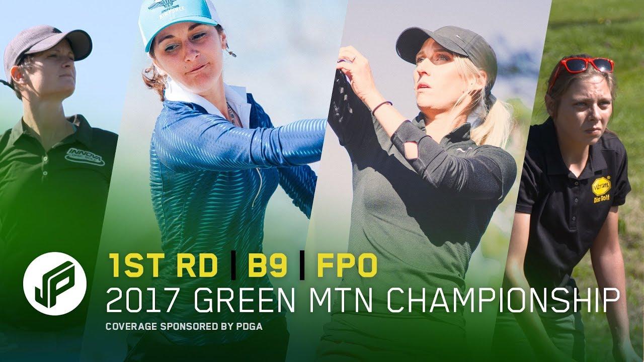2017 GMC FPO | Round 1, Back 9