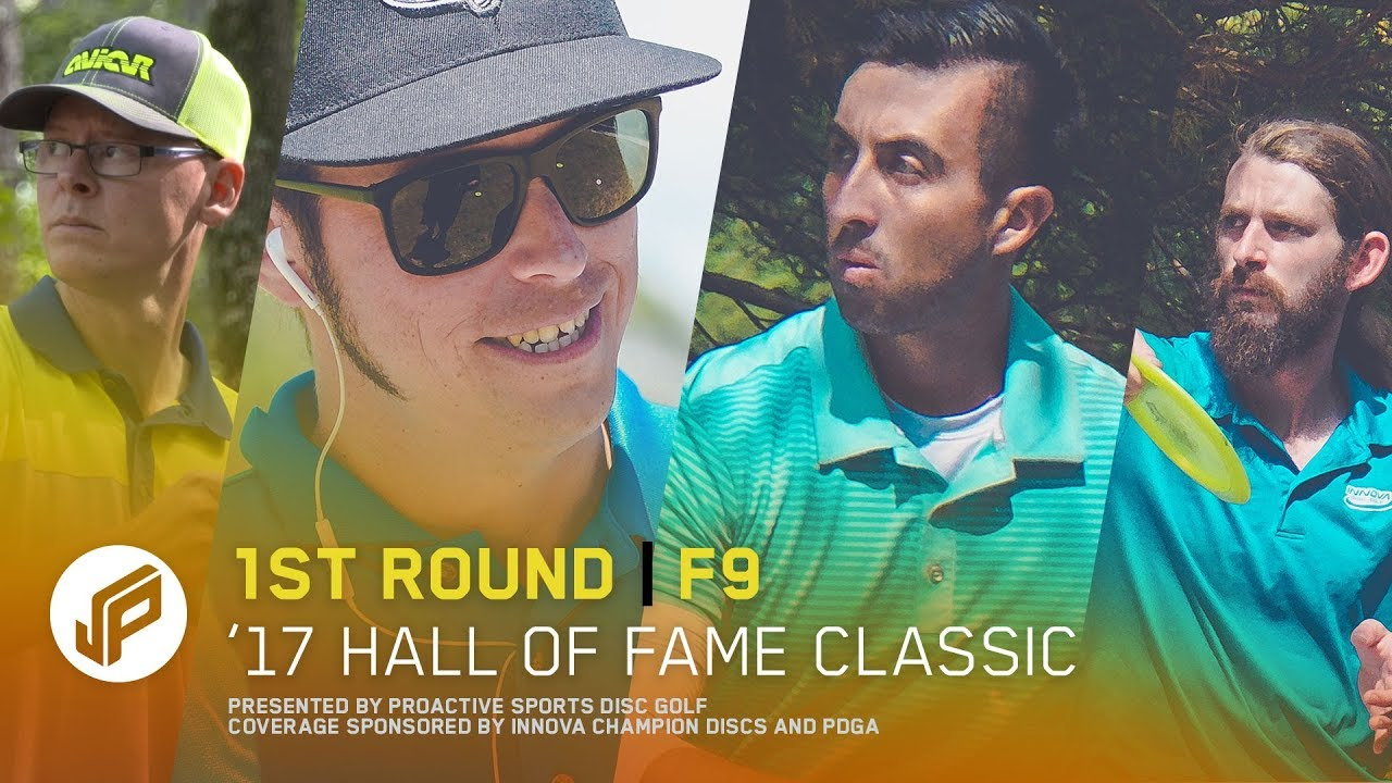 2017 Hall of Fame Classic   Round 1, Front 9