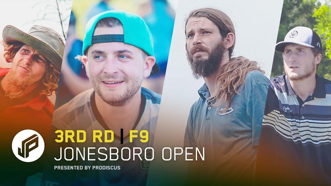 2017 Jonesboro Open | Round 3, Front 9