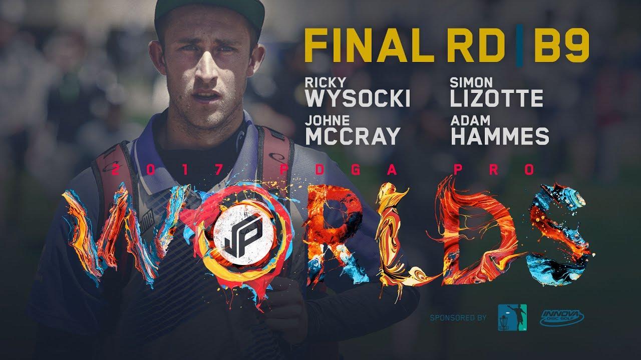 2017 PDGA Pro Worlds   Final 9