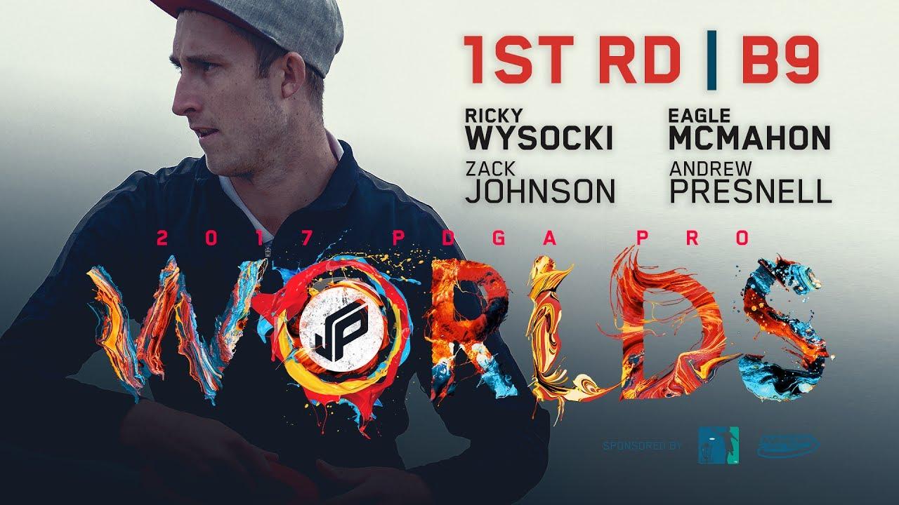 2017 PDGA Pro Worlds | Round 1, Back 9