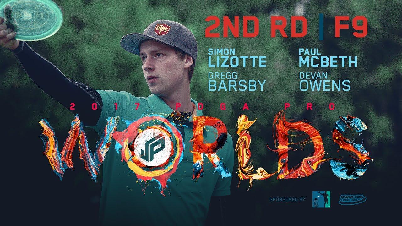 2017 PDGA Pro Worlds | Round 2, Front 9