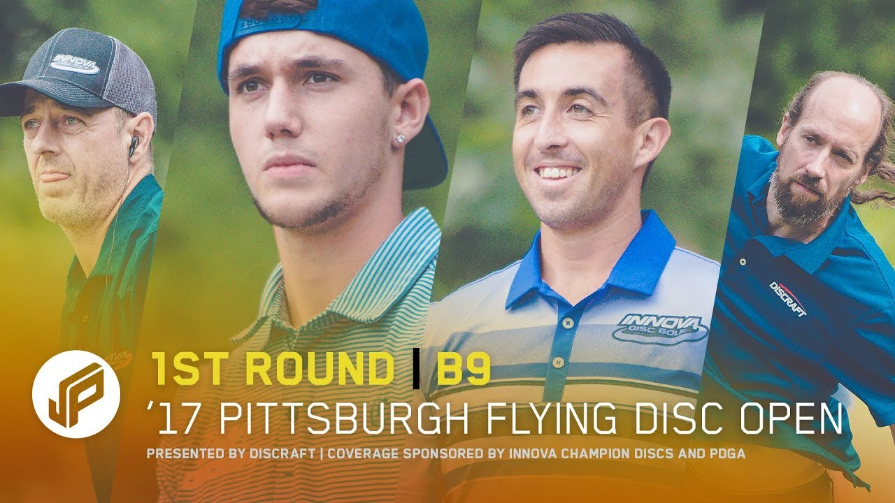 2017 Pittsburgh Flying Disc Open | Round 1, Back 9
