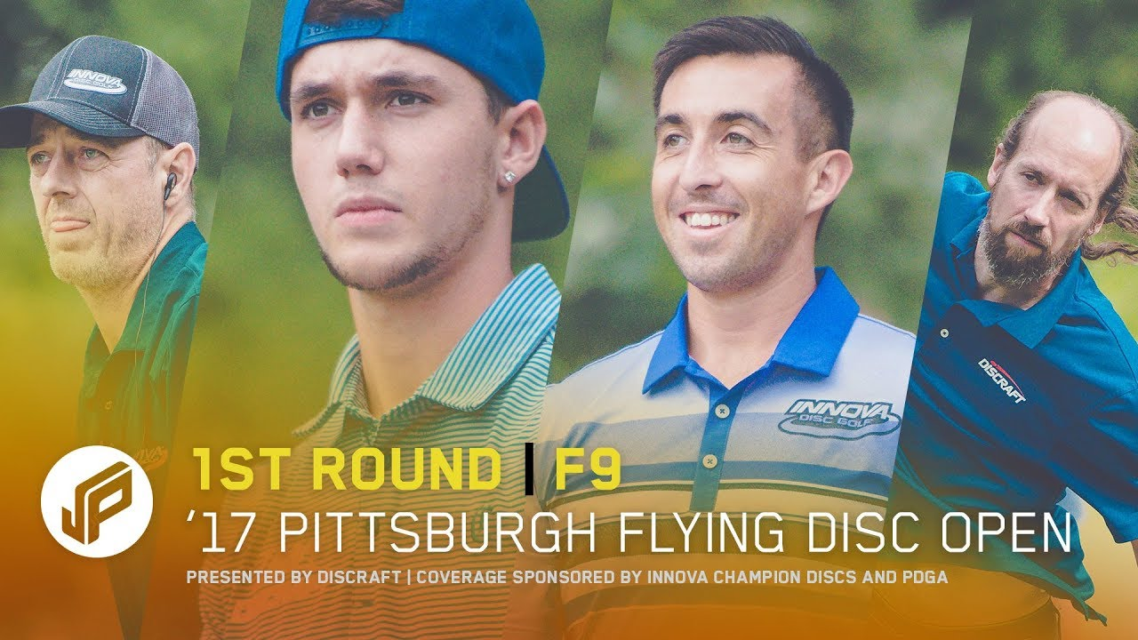 2017 Pittsburgh Flying Disc Open | Round 1, Front 9