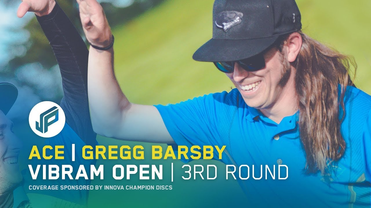 Gregg Barsby Disc Golf Hole In One – 2017 Vibram Open Round 3