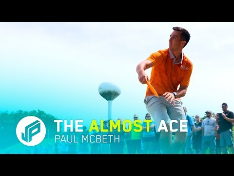 Now THIS is as close to an ACE as you can get!   Paul McBeth
