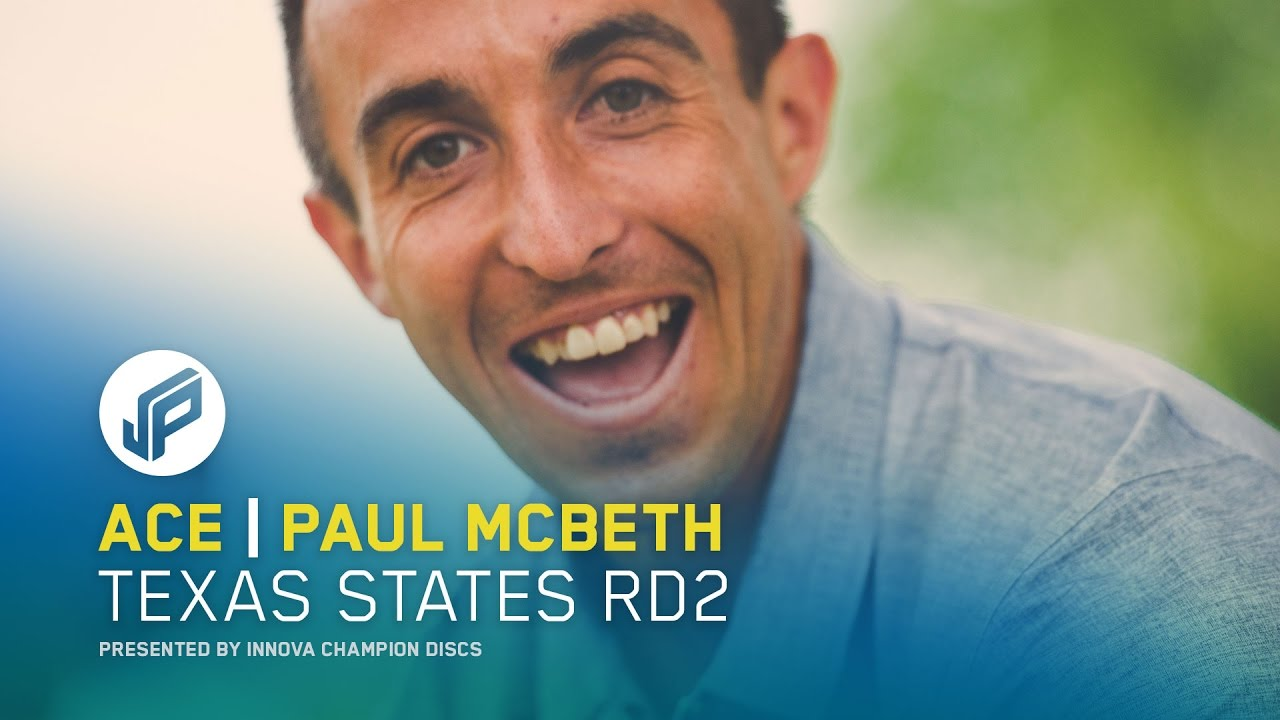 Paul McBeth Disc Golf Hole In One – Texas States 2017 Round Two