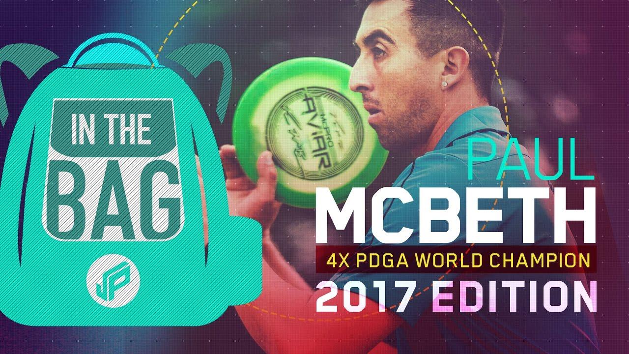 Paul McBeth   In the Bag   2017