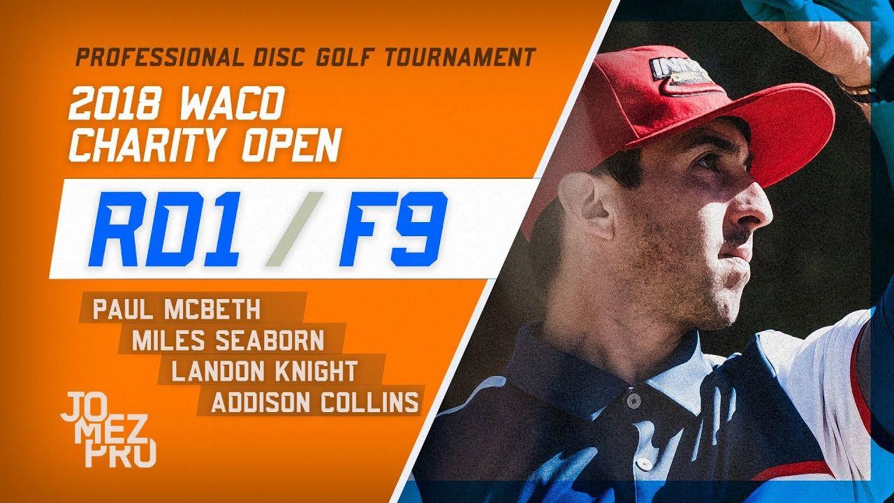 2018 Waco Charity Open | Round 1, F9
