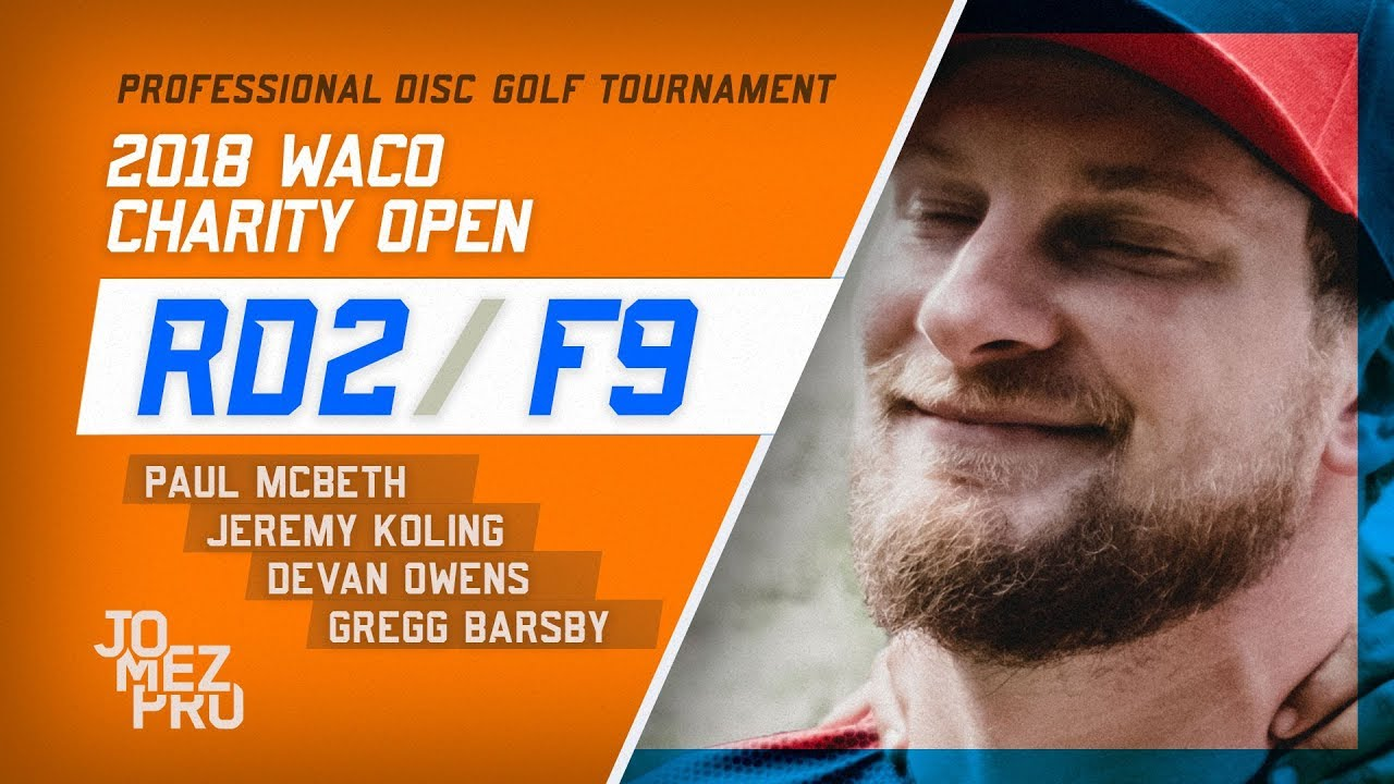2018 Waco Charity Open | Round 2, F9
