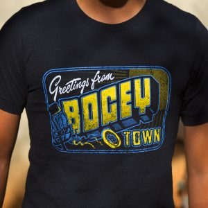 Greetings from Bogey Town Disc Golf Shirt