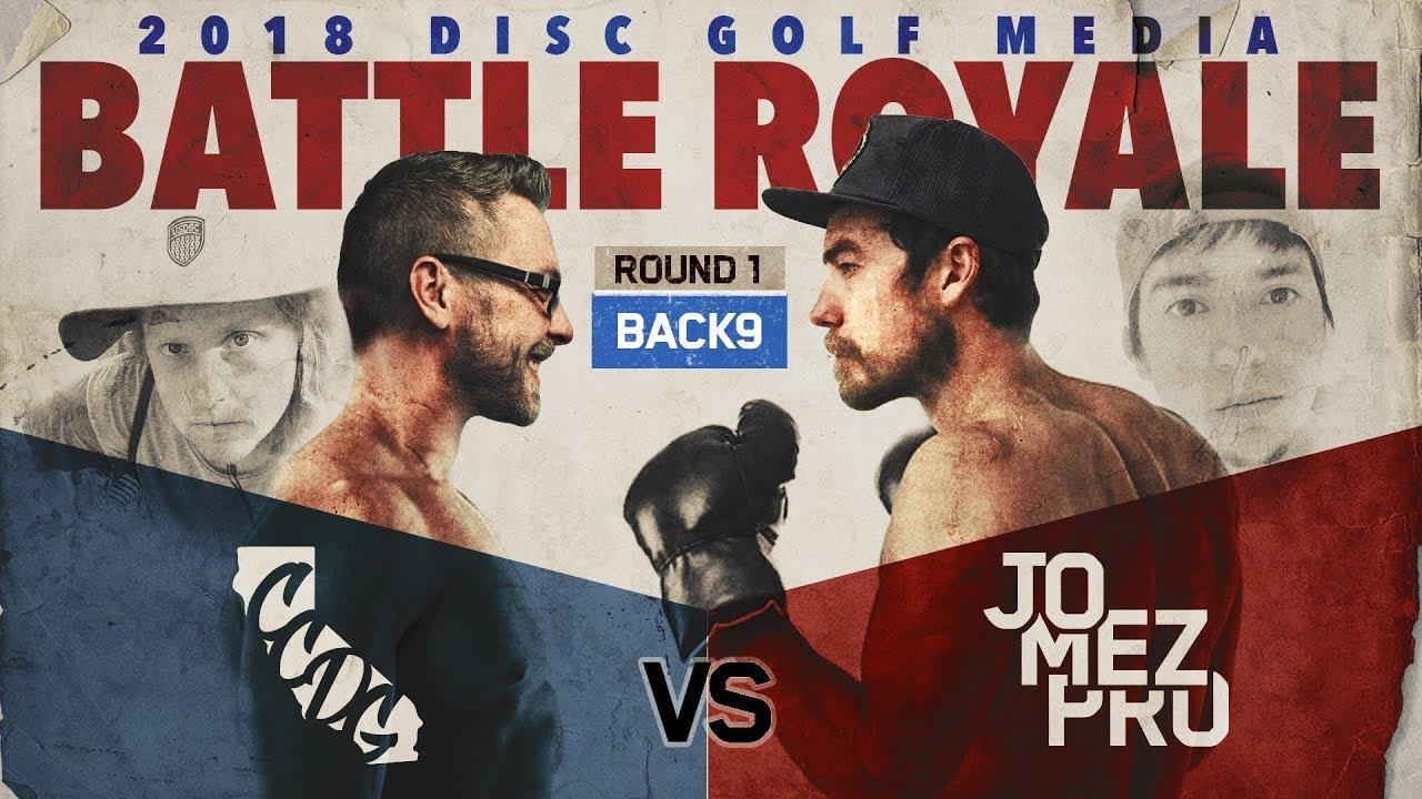 CCDG vs Jomez Pro | BATTLE ROYALE | Back 9