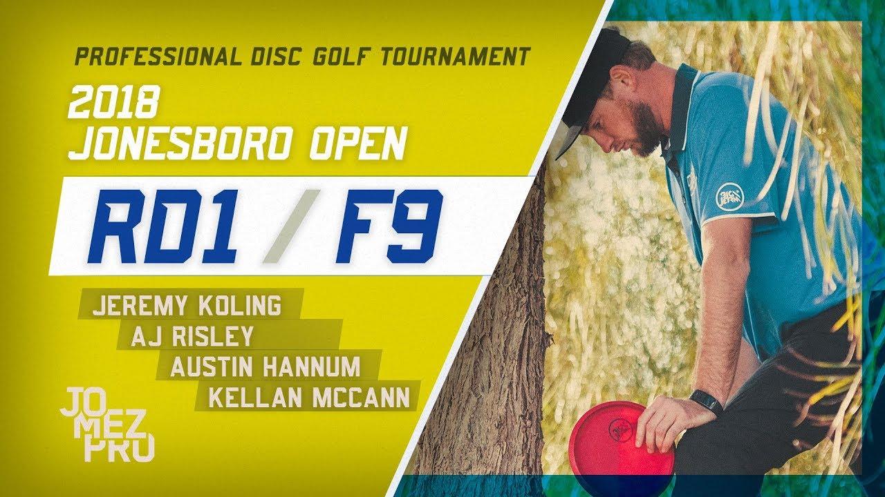 2018 Jonesboro Open | Round 1, F9, MPO