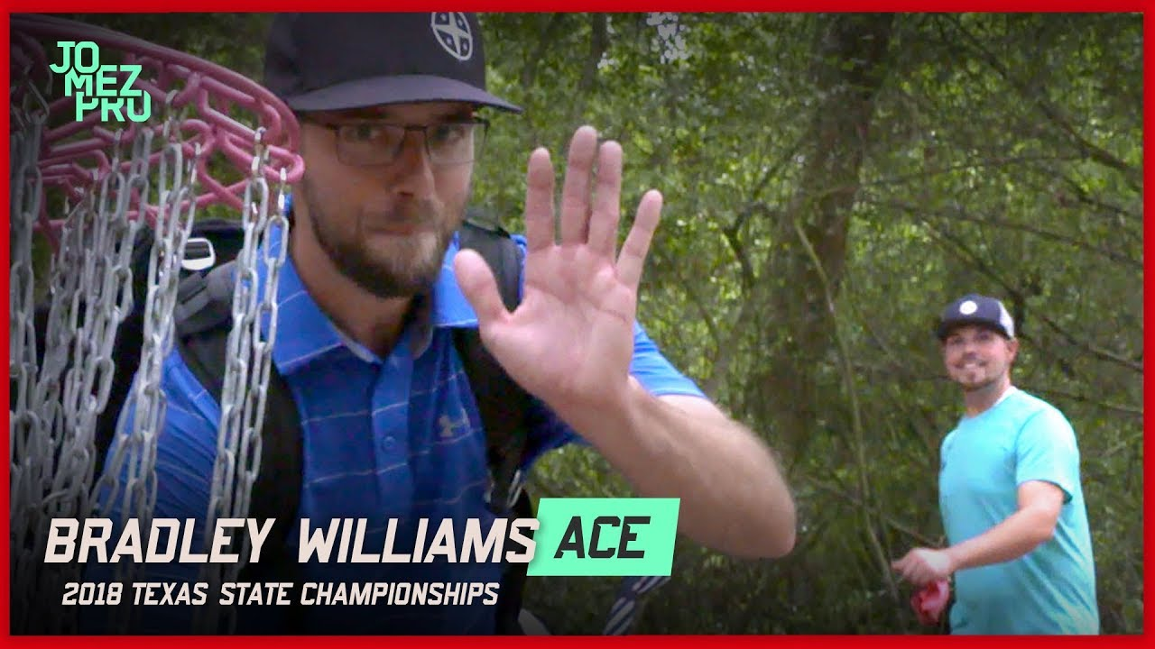 Bradley Williams Disc Golf Ace – 2018 Texas States Round One