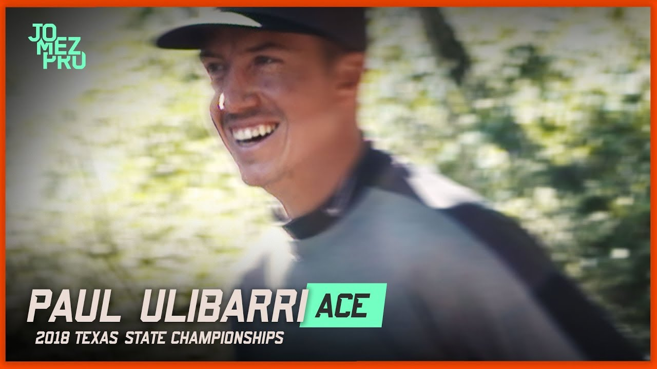 Paul Ulibarri Disc Golf Ace – 2018 Texas States Round Two