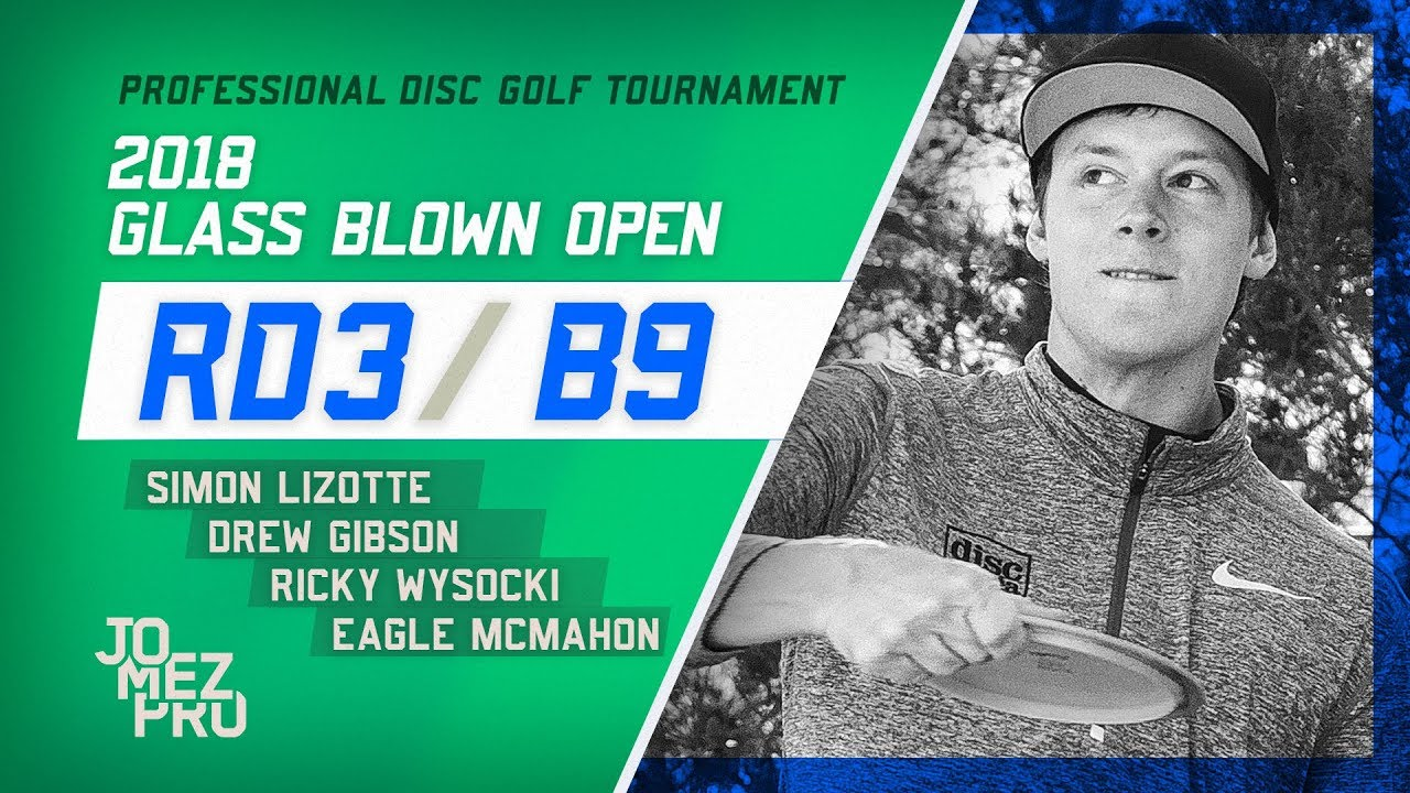 2018 Glass Blown Open | Lead Card, Final Round, B9