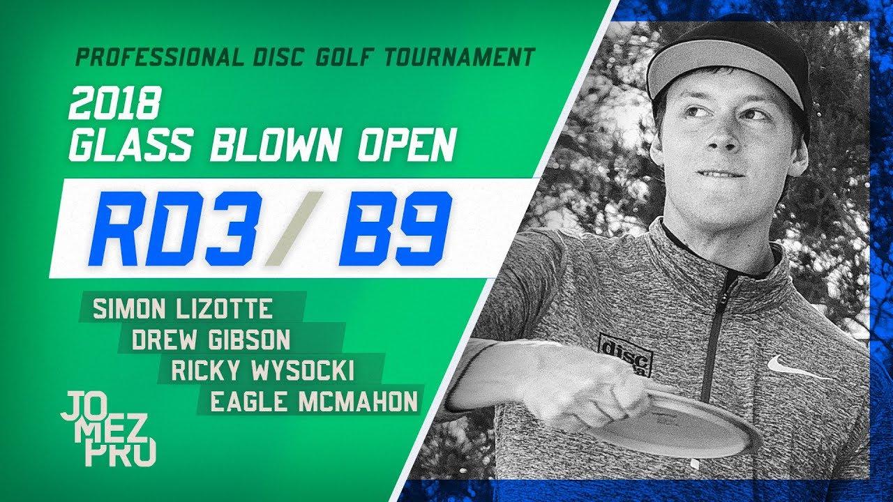 2018 Glass Blown Open | Lead Card, Final Round, B9