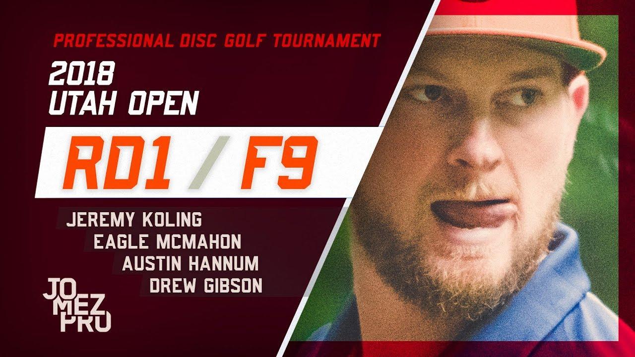 2018 Utah Open | Round 1, F9