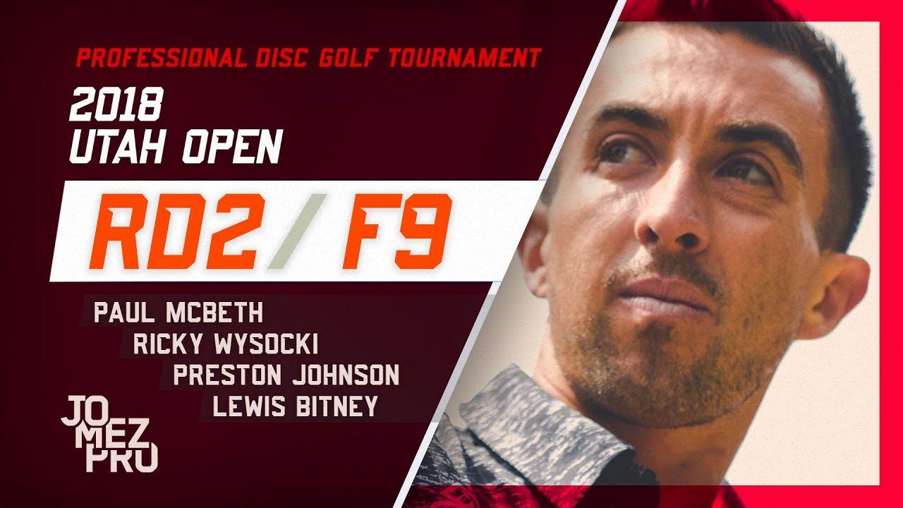 2018 Utah Open | Round 2, F9