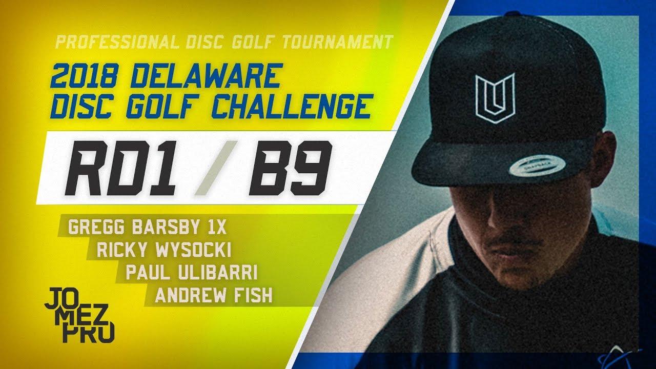 2018 Delaware Disc Golf Challenge | Round 1, B9
