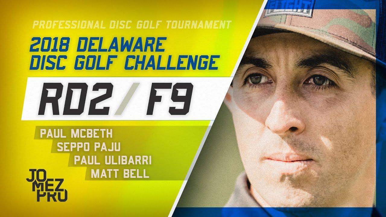 2018 Delaware Disc Golf Challenge | Round 2, F9