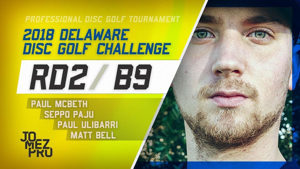2018 Delaware Disc Golf Challenge | Round 2, B9