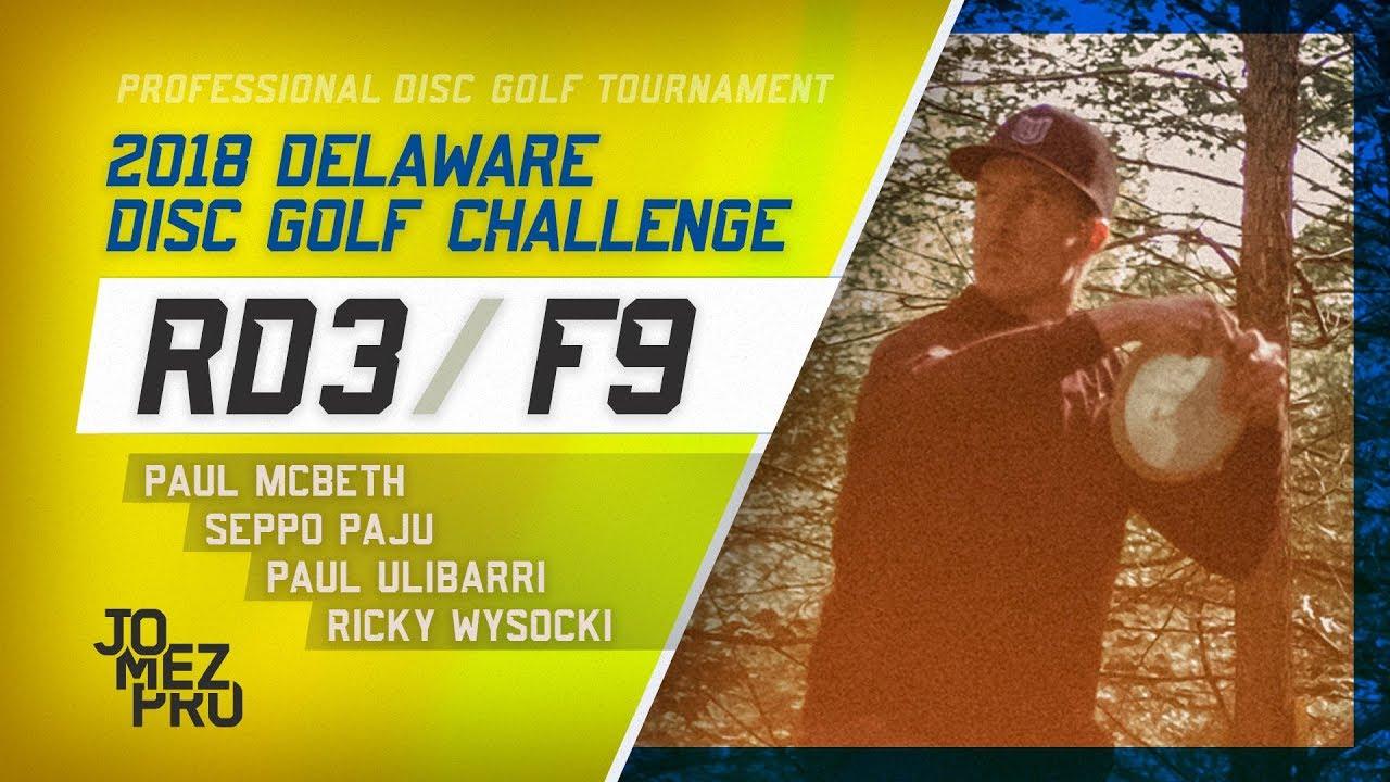 2018 Delaware Disc Golf Challenge | Final Round, F9