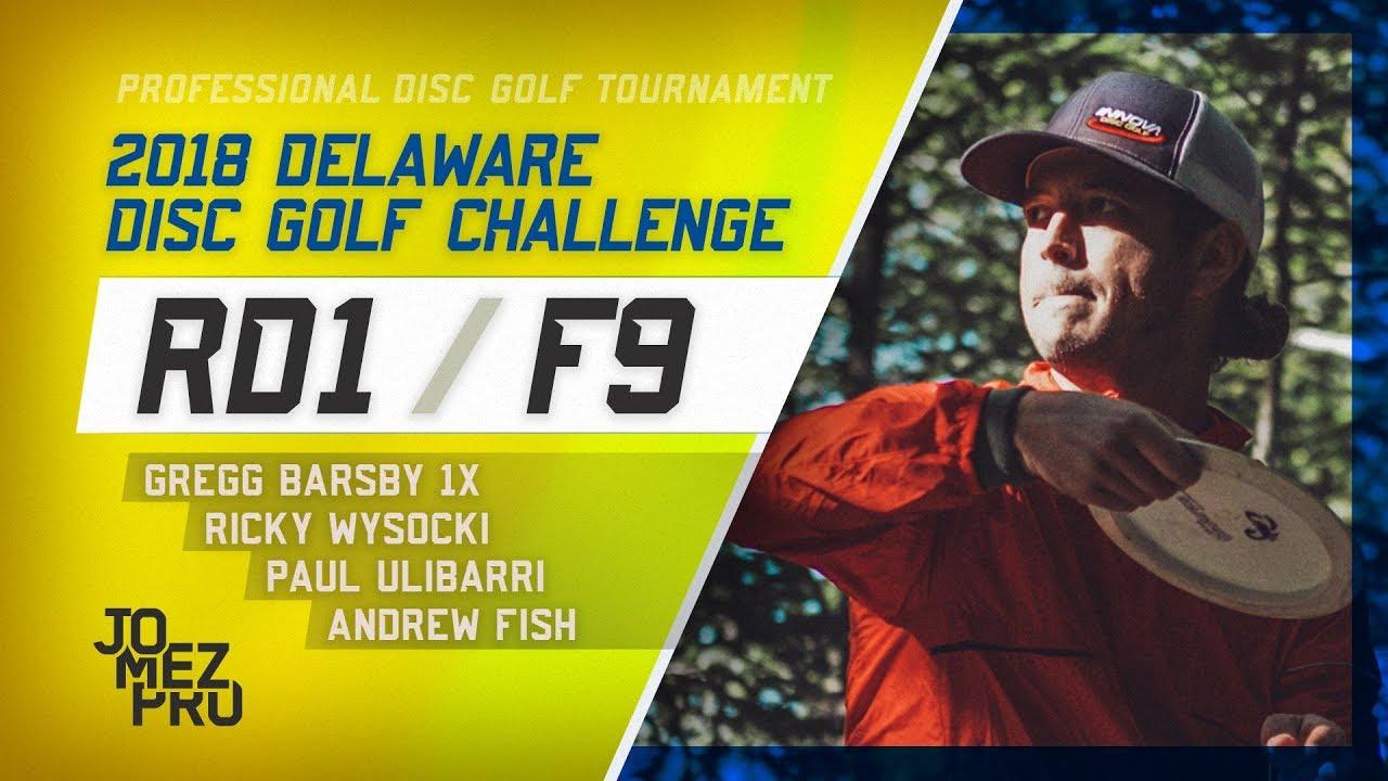 2018 Delaware Disc Golf Challenge | Round 1, F9