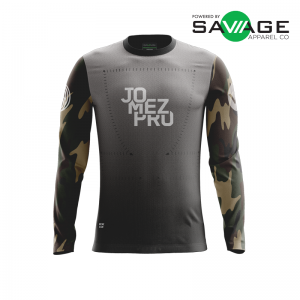 Male - Camo Gun Show Long Sleeve Jersey - Front