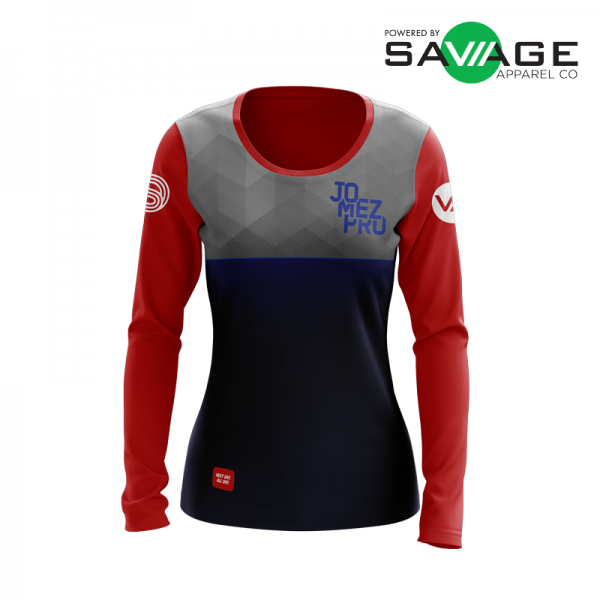 Female - Classic #1 Long Sleeve Jersey - Front