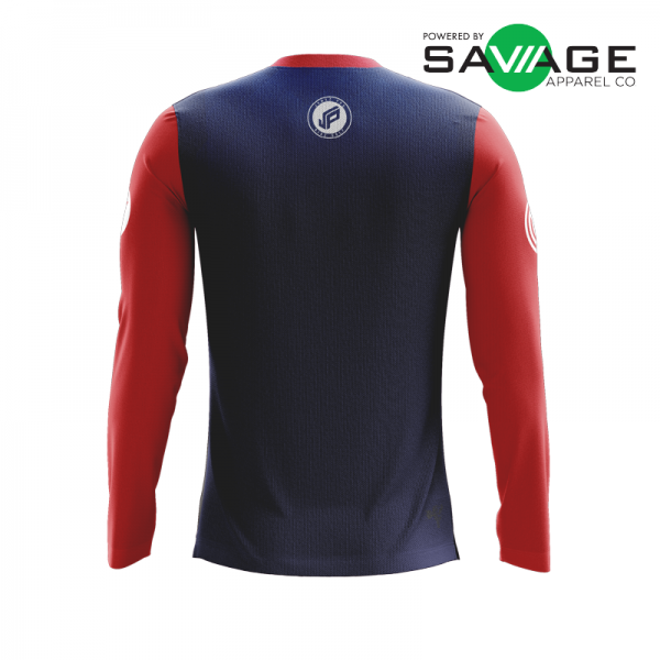 Male - Classic #1 Long Sleeve Jersey - Back