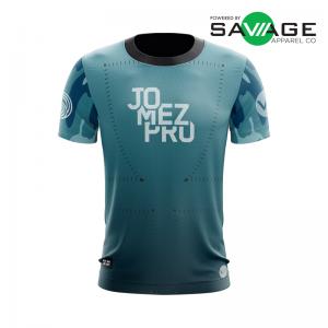 Male - Aqua Gun Show Jersey - Front