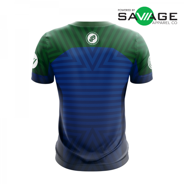 Male - Course Stripes Jersey (Blue) - Front
