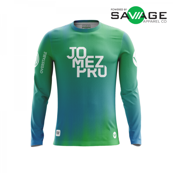 Male - Vibe Long Sleeve Jersey - Front