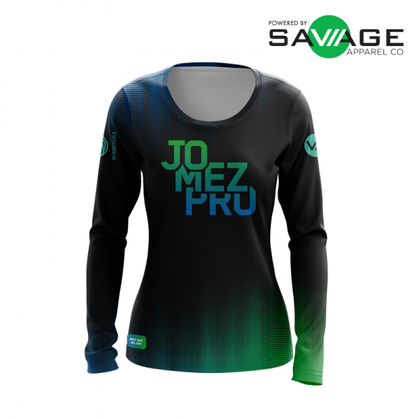 Female - Boost Long Sleeve Jersey - Front