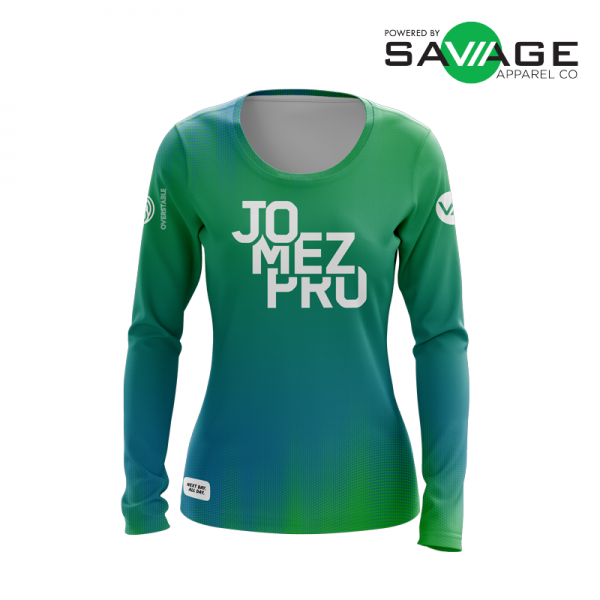 Female - Vibe Long Sleeve Jersey - Front