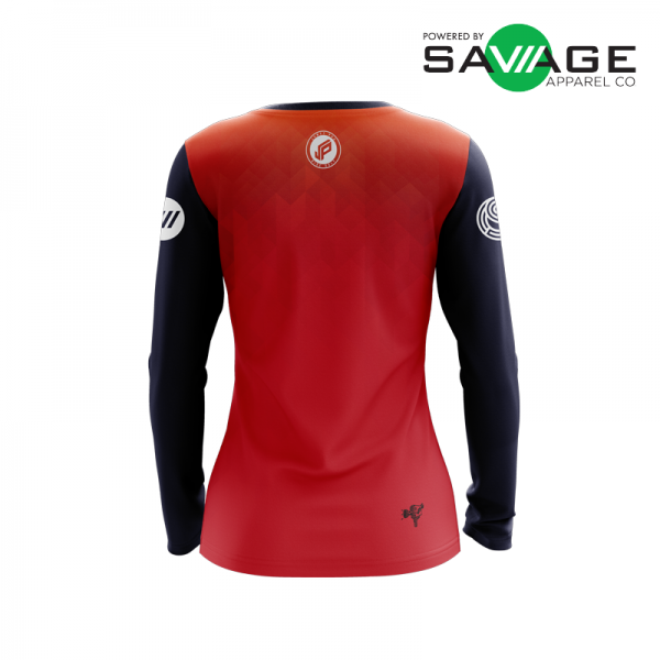 Female - Classic #2 Long Sleeve Jersey - Back