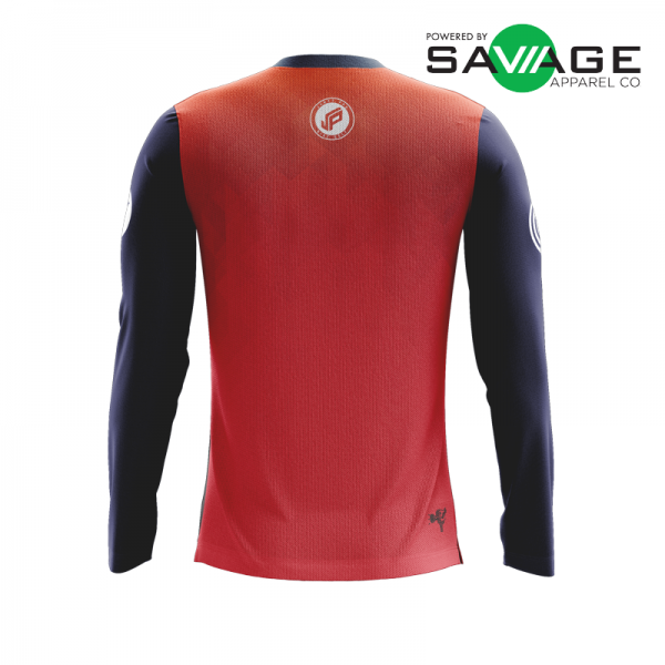 Male - Classic #2 Long Sleeve Jersey - Back