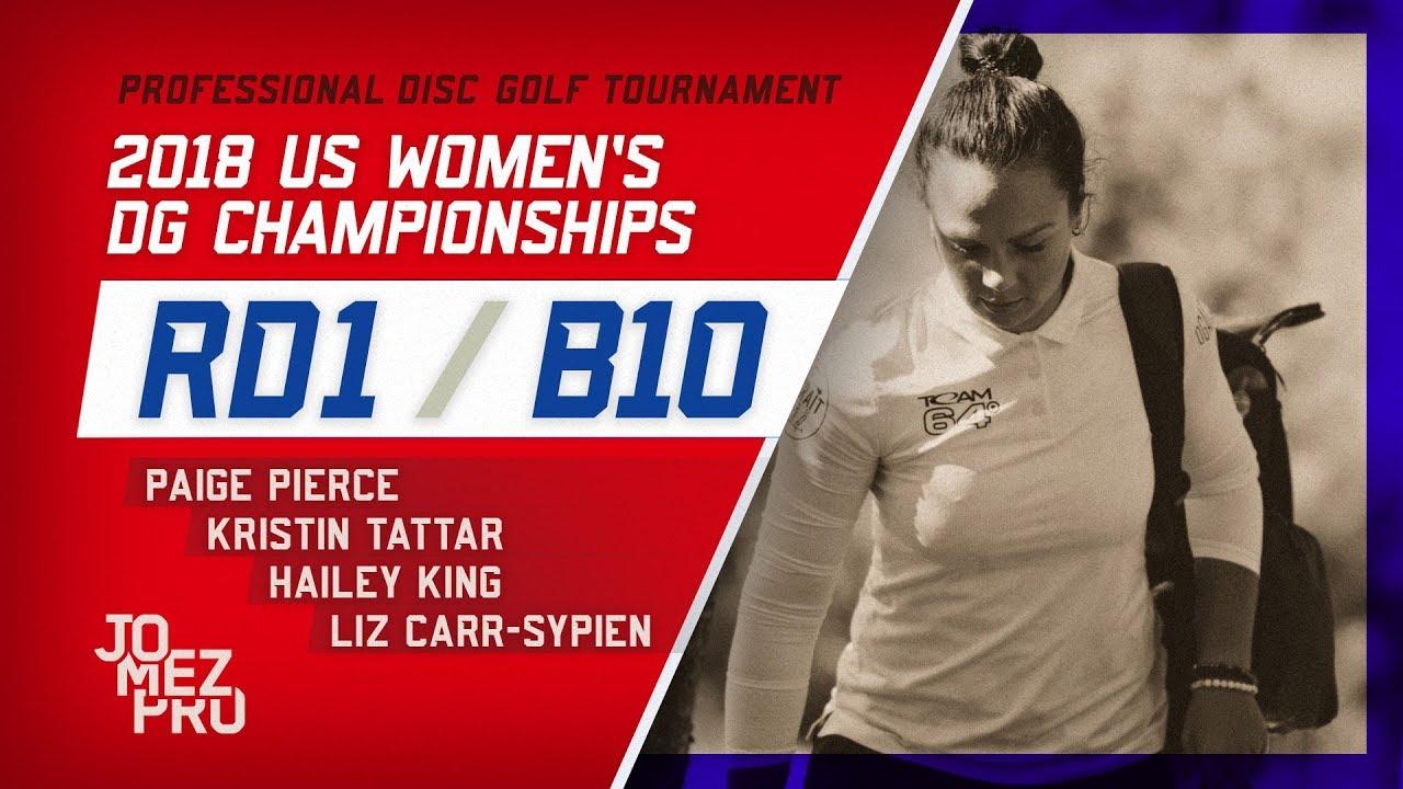 2018 US Women's DGC | Round 1, B10