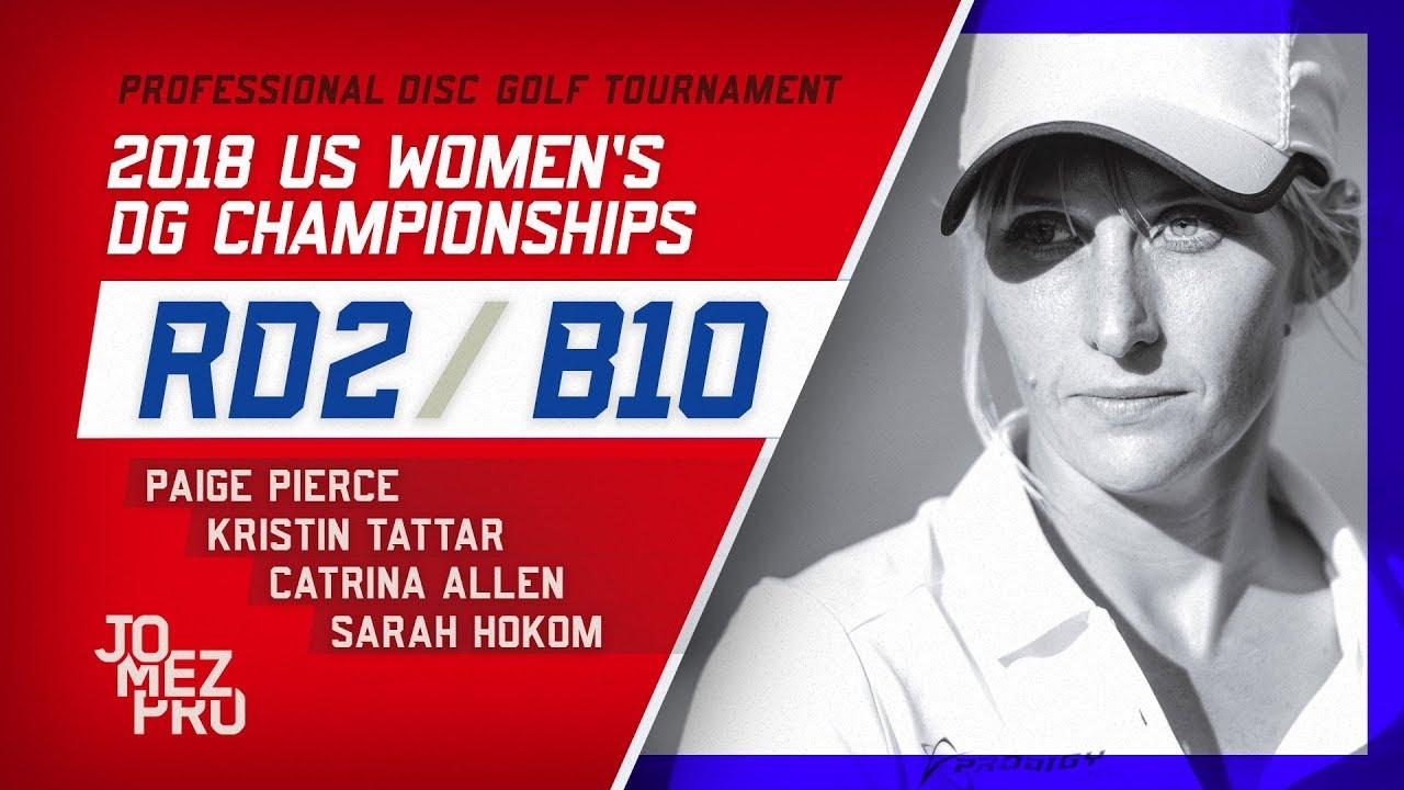 2018 US Women's DGC | Round 2, B10