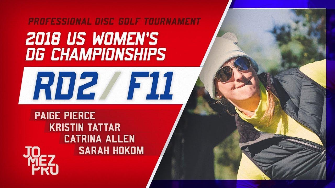 2018 US Women's DGC | Round 2, F11