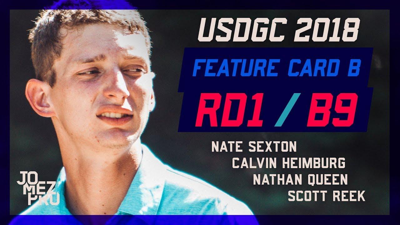 2018 USDGC | Chase Card | Round 1, B9