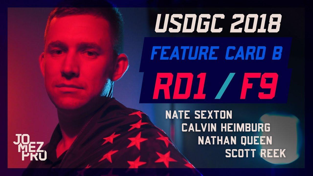 2018 USDGC | Chase Card | Round 1, F9
