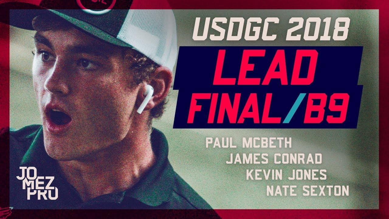 2018 USDGC | Lead Card | Final Round, B9